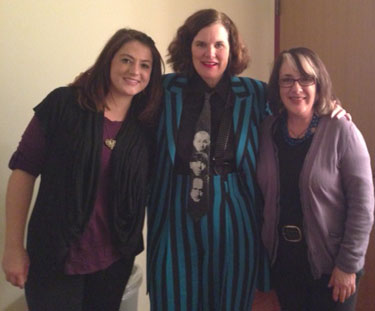 Paula Poundstone and Cherrie Silverman
