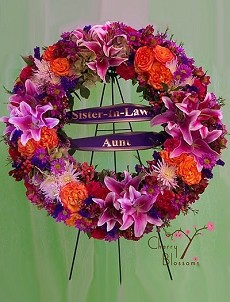 Bright Remembrance Wreath