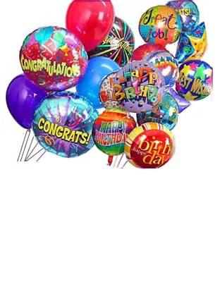 Foil / Mylar Balloon with Messages