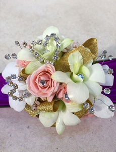 Blinged Out Corsage