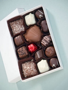 Half Pound Box Chocolates