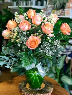 Peach Coral Reef Roses
