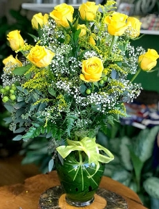 Yellow Brighton Roses