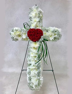 Bleeding Heart Cross