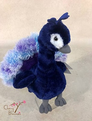 Peacock Plush Animal